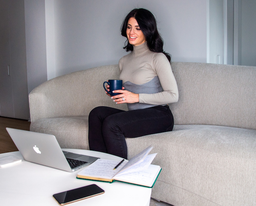 life coach, working from home, video chat, woman, personal coach, services